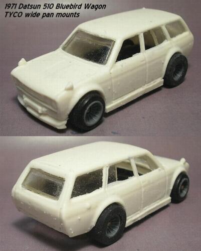 Resin HO SLOT CAR scale 1971 Datsun 510 bluebird wagon JDM