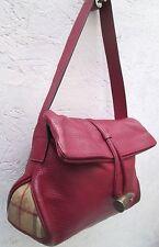 AUTHENTIQUE sac à main BURBERRY en cuir parfait état vintage bag /