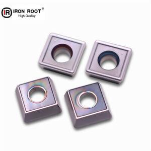 10P SPMG090408-TG LF6018 CNC Carbide Insert U drill Insert For stainless steel
