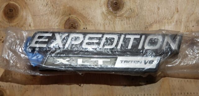 1997 2002 ford expedition xlt triton v8 fender emblems for sale online ebay ebay