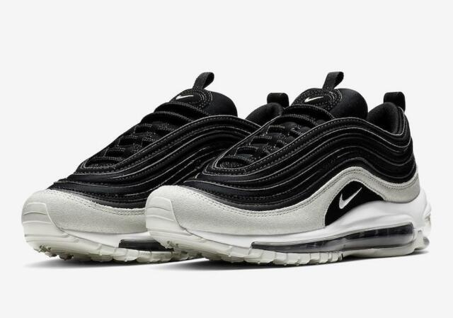 W NIKE AIR MAX 97 PRM PREMIUM 917646 007 BLACKSPRUCE AURAGREYWHITE LEATHER