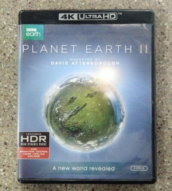 Planet Earth II (2) Natural Environment Encounters 4K Ultra DVD