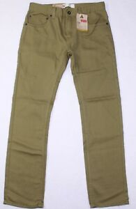 Levi/'s 511 Slim Fit Boys Size 16 28X28 Olive Green New With Tags