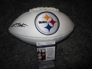 d3965e6ec Image is loading ANTONIO-BROWN-Pittsburgh-Steelers-SIGNED-Autographed-Logo- Football-