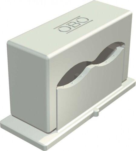 25 Stück OBO Bettermann Druck-ISO-Schelle 3050 2 6-16 grau Druckschellen 2115018