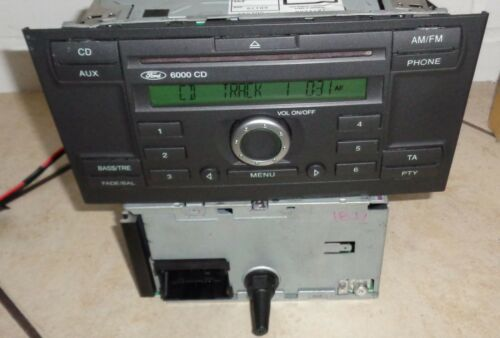 Ford Mondeo 3 III Radio de Voiture Autoradio CD 6000 Cd6000 RDS Mk3 Code