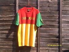 Jamaican RASTA Colour, Panel T shirt. ...SIZE..L