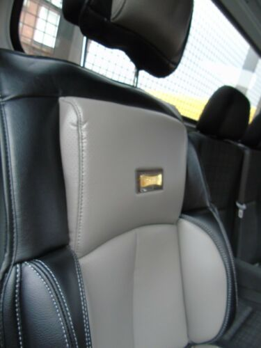 BLACK TO FIT A VAUXHALL MOVANO VAN DRIVERS SEAT COVER YS01  GREY