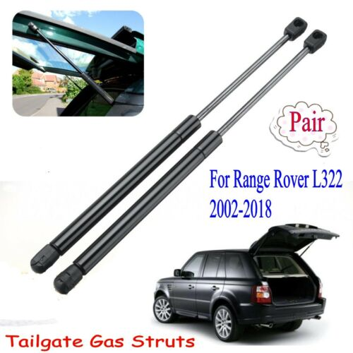 2xFor Range Rover L322 2002-2018 Tailgate Rear Trunk Lift Supports Shock Struts