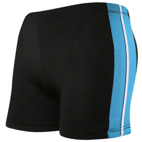 Men/'s Solid Swimming Trunks Swim Pool Shorts Boxer Soft Nylon Swimwear Swimsuit