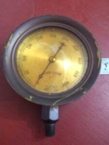 Antique-Crosby-Steam-TEST-Gage-amp-Valve-Inspector-Railroad-Steampunk-Train-SMALL