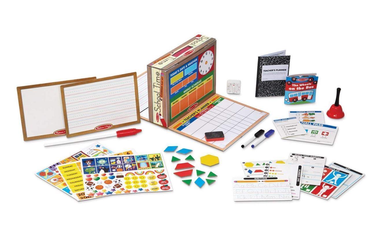 Classroom Play Set Game Melissa and Doug School Time Pretend Play Educational