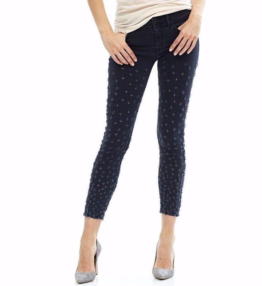 Nuevo  con Etiqueta Hudson Sz29 Nico Midrise Tobillo Súper Skinny-Stretch Jeans  autorización