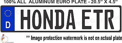 German AZZHOLE  BACKWARDS EURO STYLE  TAG BMW  European license plate