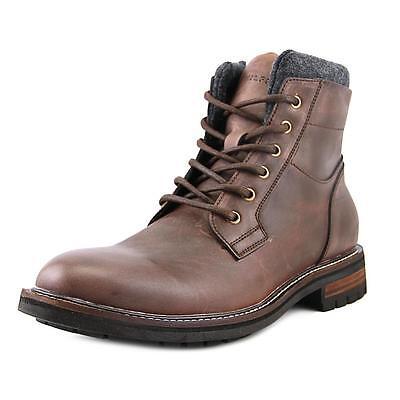 Tommy Hilfiger Hamden Men  Round Toe Leather Brown Boot