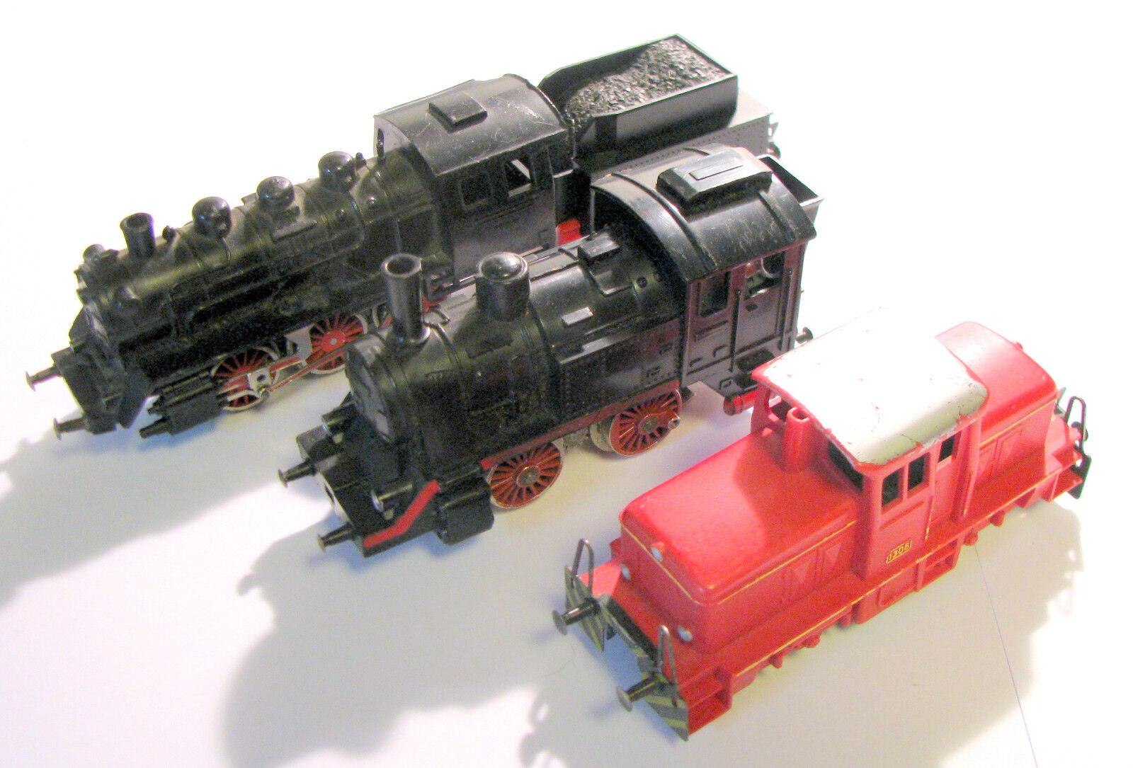 Colección locomotoras Fleischmann h0 artículo para aficionados a las manualidades probada