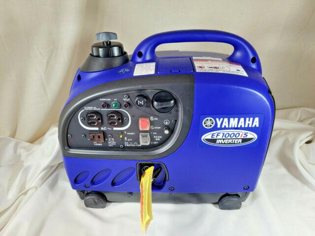 NEW ~ Yamaha EF1000iS 1000 Watt Inverter Generator