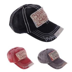 Mens Unisex Casual baseball cap ball Sports caps adjustable Trucker ... 5b3b7604f