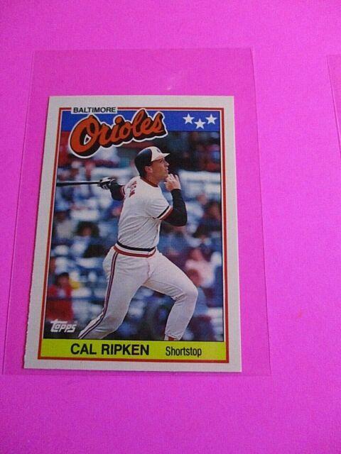 1988 Topps TIFFANY, UK American Baseball Mini,  MINT, Cal Ripken Jr #61, Rare!