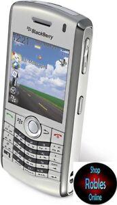 Blackberry pearl 8110 Grey (sin bloqueo SIM) 4 banda 2mp LED flash GPS Bluetooth nuevo
