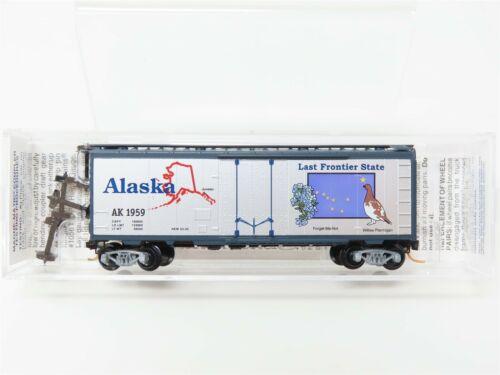 N Scale Micro-Trains MTL 02100388 AK Alaska State Car 40/' Box Car #1959