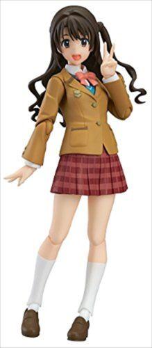 Max Factory figma Idolmaster Cinderella Girls Shimamura Uzuki Figure Anime Japan