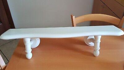 Accessori Bagno In Legno : Set accessori bagno completo legno bianco opaco avorio arredo