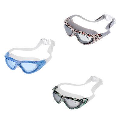 Unisex Adult Kids Waterproof Anti-Fog Swim Swimming Goggles Glasses