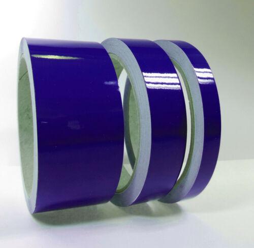Zierstreifen Royalblau 5mm 10 m Länge Folie Aufkleber Auto blau Klebeband Folie