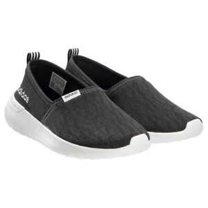 1b05b431652 Details about NEW Womens Black ADIDAS Slip On CloudFoam Neo Lite Racer  Shoes Sneakers Size 7