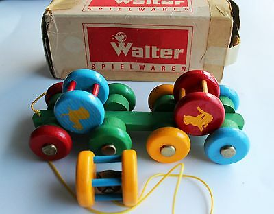 Vintage WALTER SPIELWAREN Toy, Rare Made in West Germany