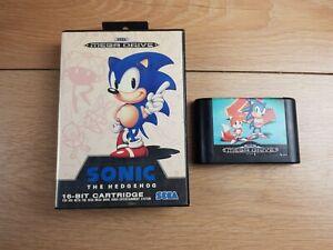 Sonic-The-Hedgehog-1-amp-2-Bundle-Sega-Megadrive-PAL-komplett-Retro