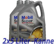 Mobil Super 3000 X1  5W-40 2x5 Liter Motoröl BMW LL01, Opel, MB 229.3