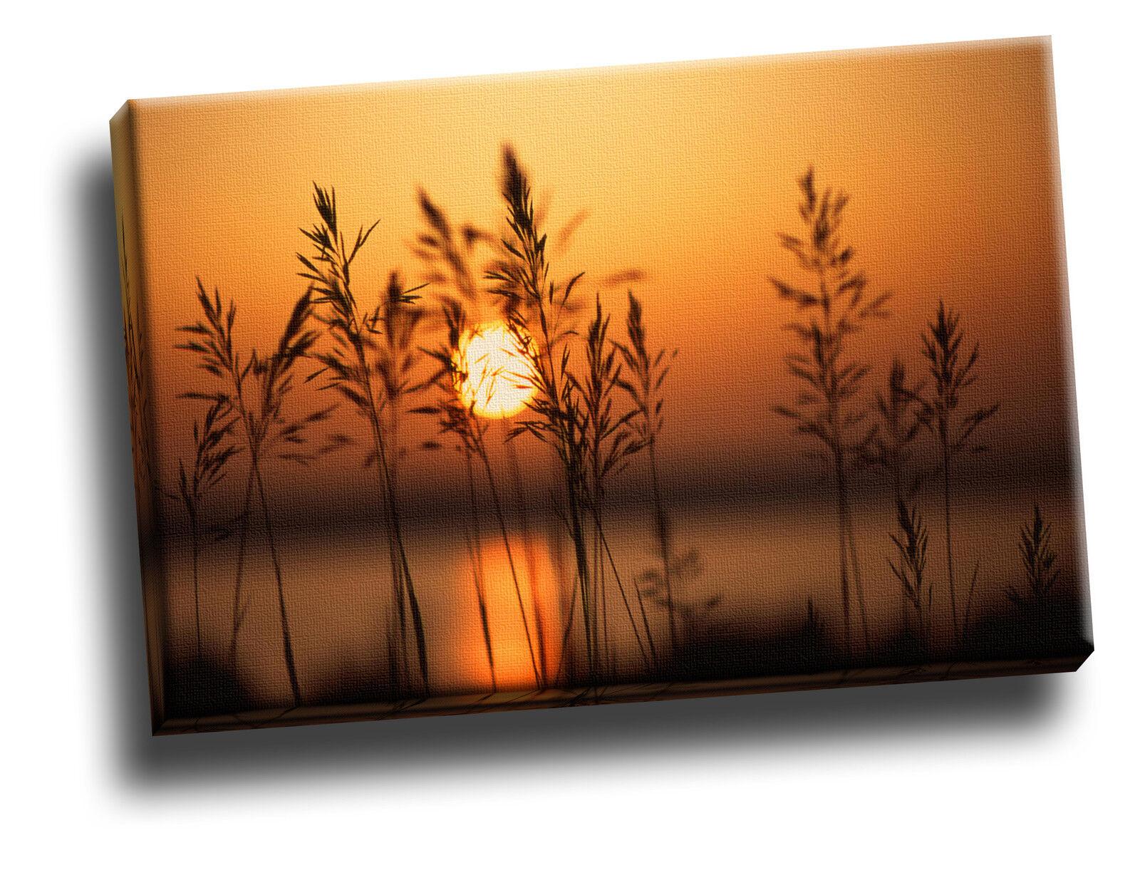 A Setting Sun Giclee Canvas Bild Wand Kunst