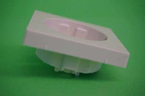 Merten Steckdosen Abdeckung MEGXXXX-0319 polarweiß Ersatz ohne UP-Einsatz