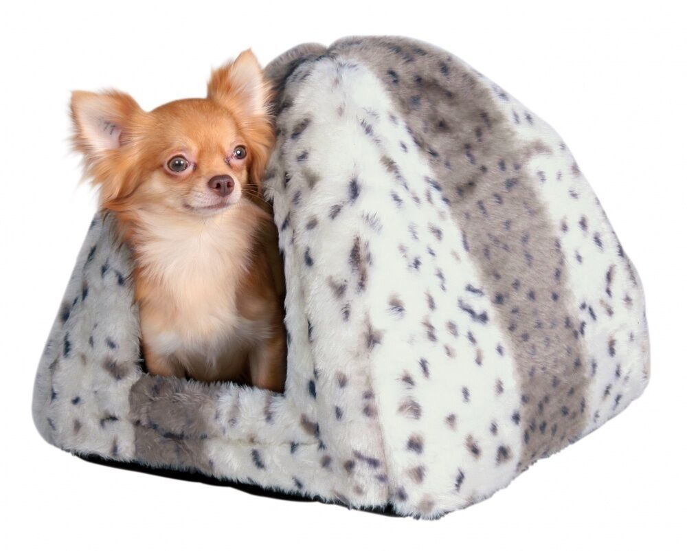 Pet Puppy Cat Cave Bed Igloo Sleeping House for Winter - 40 cm by TRIXIE