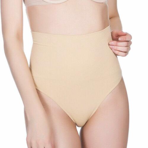 UK Checker Undetectable Thong High Waist Tummy Control Shaper Underwear G String