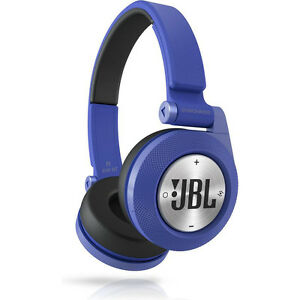 jbl synchros e40bt bluetooth blue headphones headset music. Black Bedroom Furniture Sets. Home Design Ideas