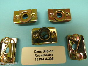 Dzus Size 4 Slip-on Receptacle Type 1219-L4-305 (5)