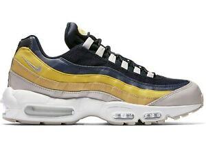 dad187b67ab262 Nike Air Max 95 Lemon Wash White Blue Yellow Size 11.5. 749766-107 1 ...