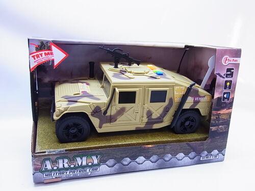 56404 juguetes Army Military langosta humvee m998 luz Sound beige//camo 24cm nuevo