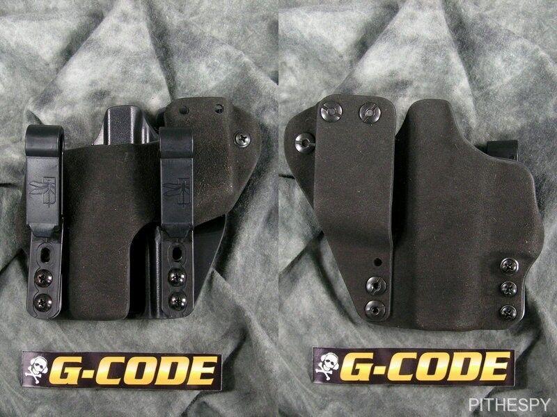 Haley G-code incog estratégica con revista Caddy Tuckable Funda Para Glock 42