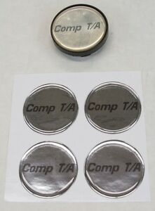 4-1995-1997-SLP-Pontiac-COMP-T-A-Logo-Center-Cap-Inserts-NEW