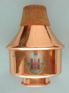Harmon Heavy Copper Wow-wow Jazz Trumpet Mute-l' Original-très Bon état-afficher Le Titre D'origine Ruvssygn-07173854-196980444