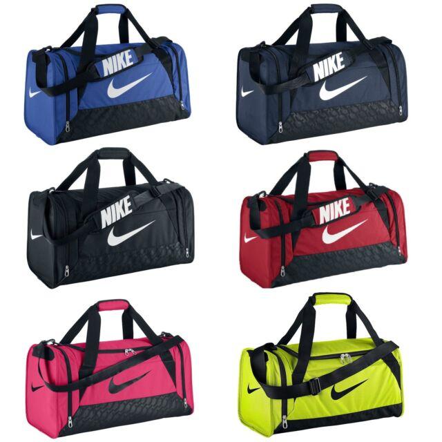 Nike Brasilia 6 Duffle Bag Team Training Sports Holdall Gym Travel Kit