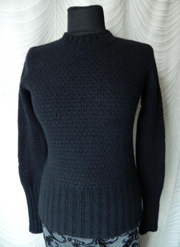 JOSEPH Wool  Cashmere Black Knit Jumper Size S