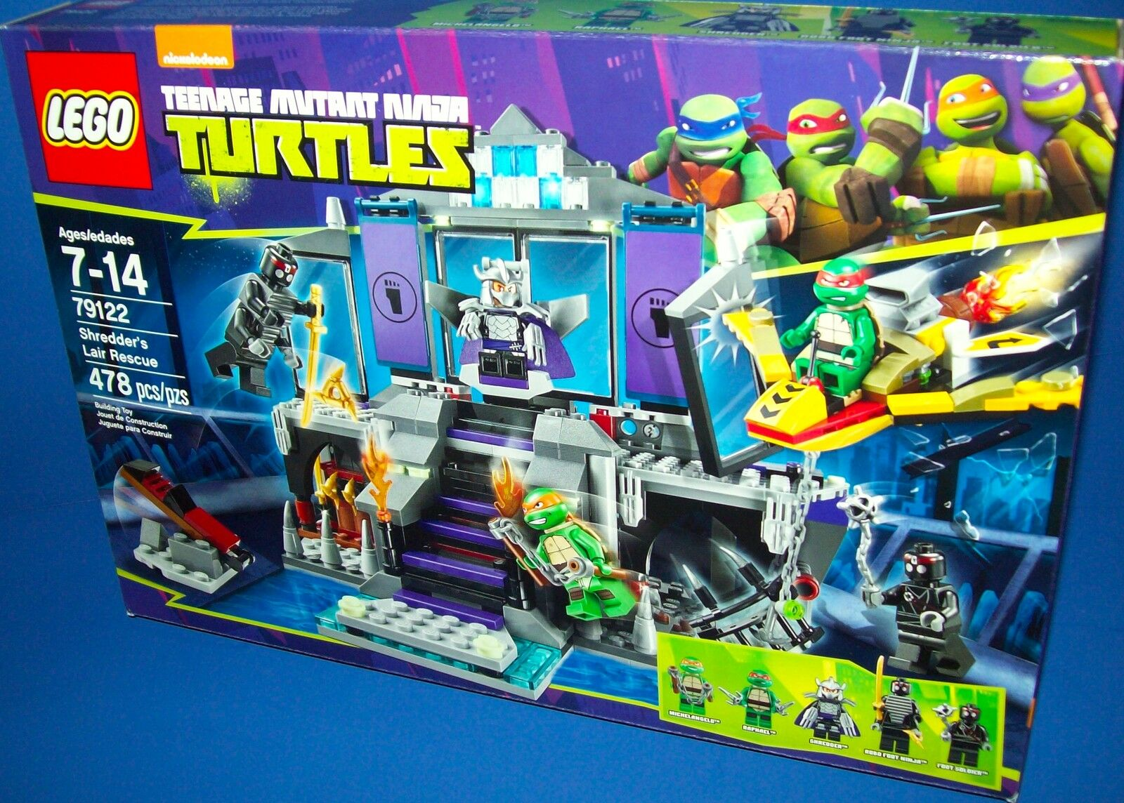 Lego 79122 Shrougeder's Lair Rescue  TMNT  Teenage  Mutant Ninja Turtles  retraité Neuf dans sa boîte  économisez 60% de réduction et expédition rapide dans le monde entier