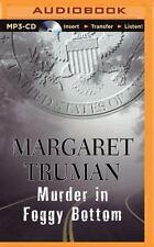 Capital Crimes: Murder in Foggy Bottom by Margaret Truman (2015, MP3 CD,...