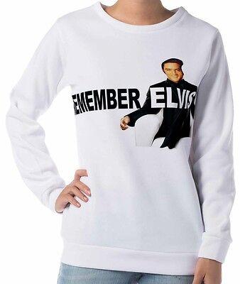 Elvis Presley Women/'s Long Sleeve Sweatshirts
