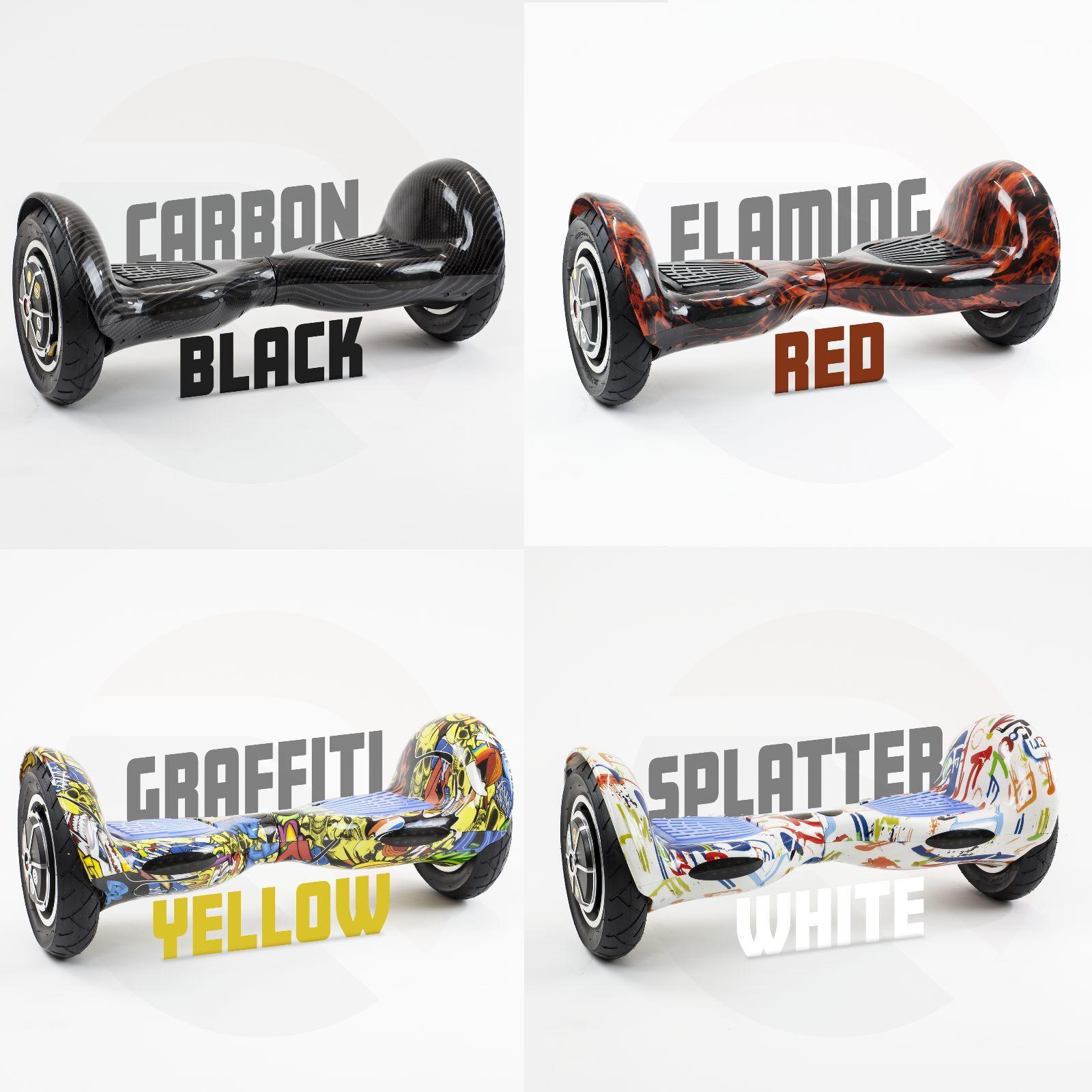 RiiRoo Self Balancing Electric Scooter 2 Wheel Self Balance Board azultooth